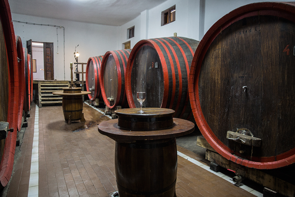 винодельня деревни Малча
