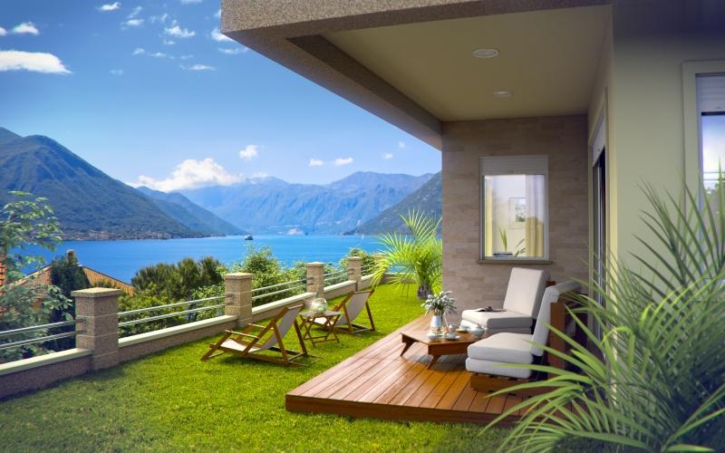 Вилла в черногории на берегу моря апартаменты на побережье испании
