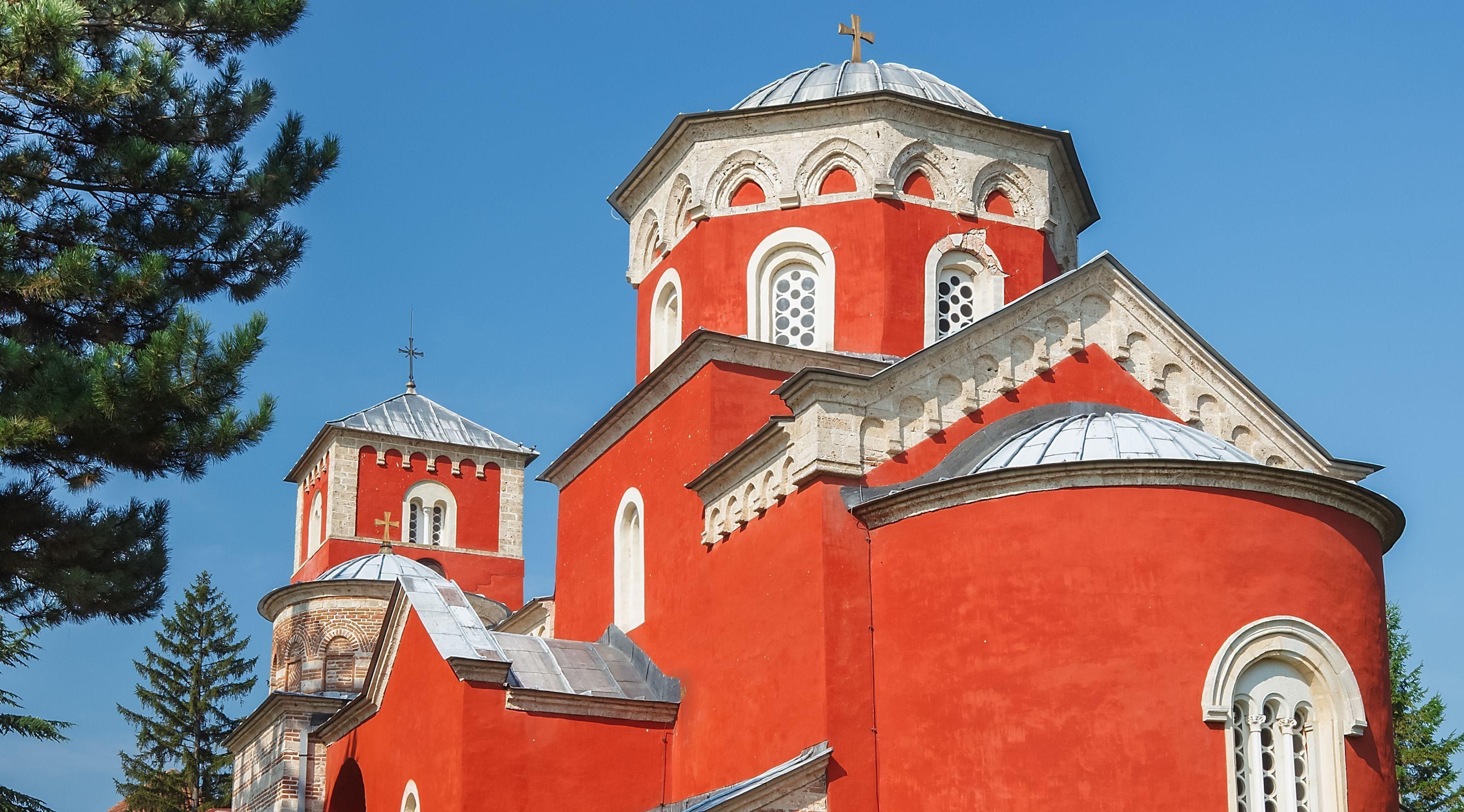 Монастырь Жича — место уникальных фресок