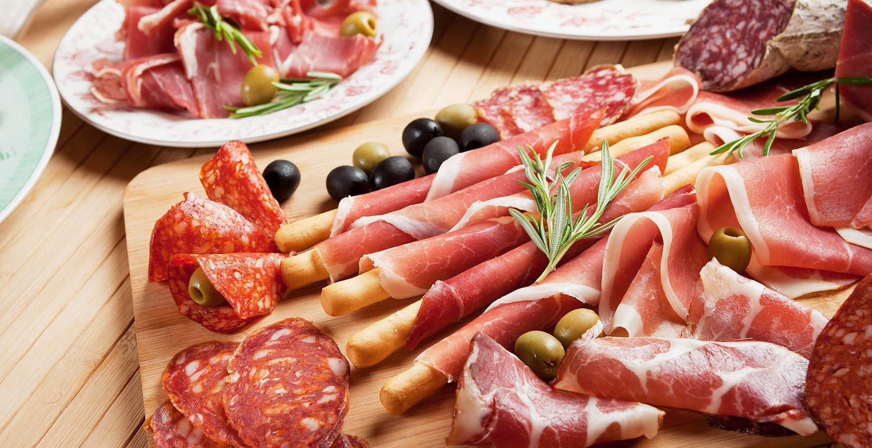 Пршут — традиционное мясное блюдо