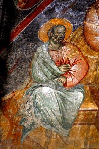 Фрески монастыря Жича