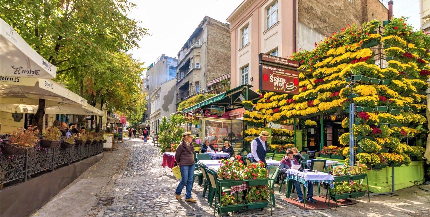 Скадарлия – богемная улица Белграда